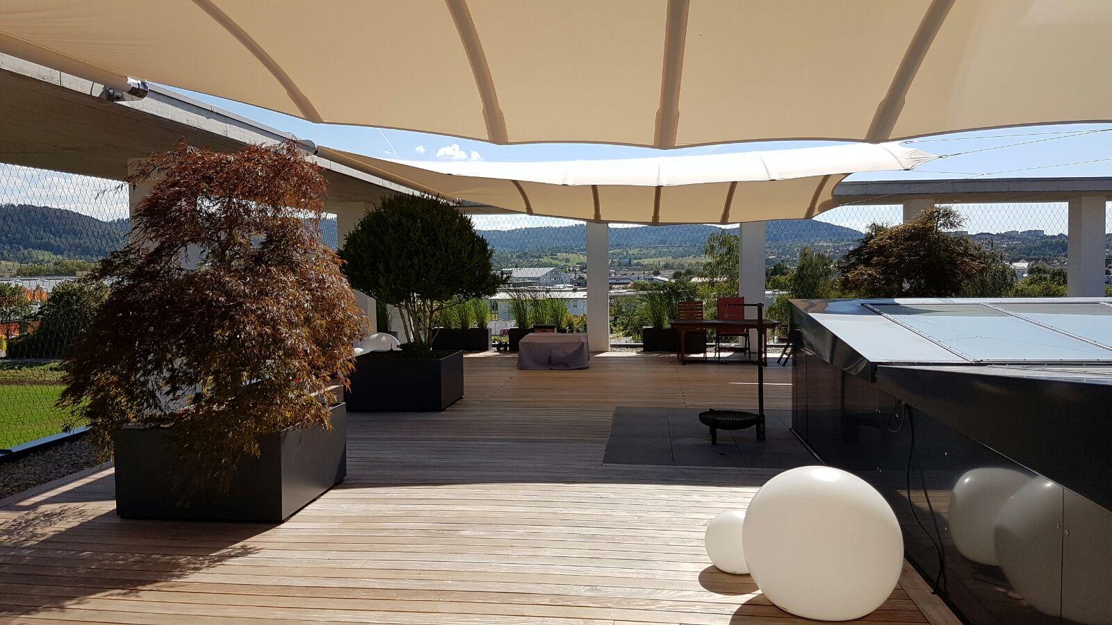 Geiger 39 s gartengestaltung pflanzenwelturbane dachterrasse gestalten rottenburg kiebingen - Dachterrasse gestalten ...