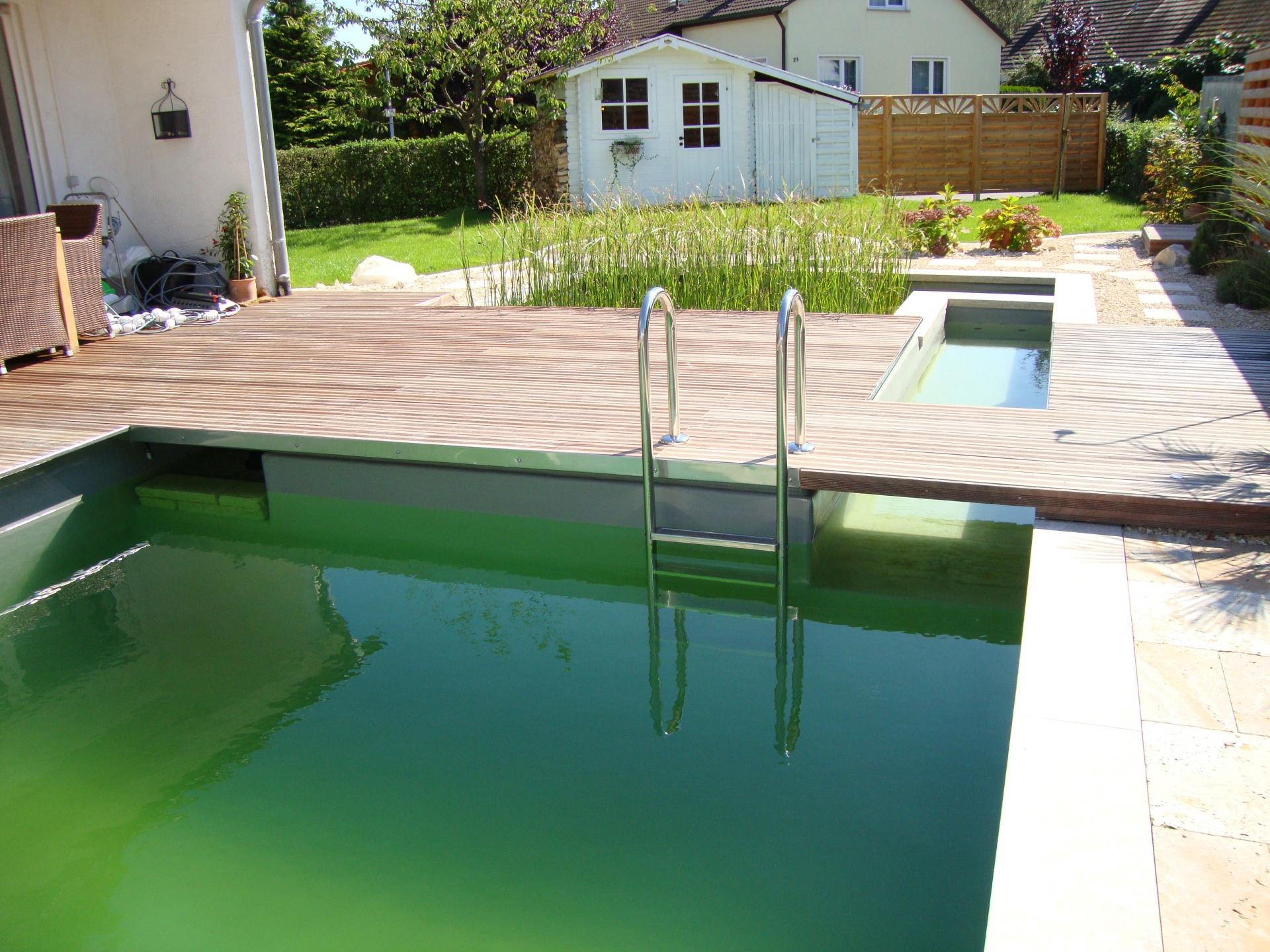 Pool design holz  Geiger's Gartengestaltung & PflanzenweltGartengestaltung ...
