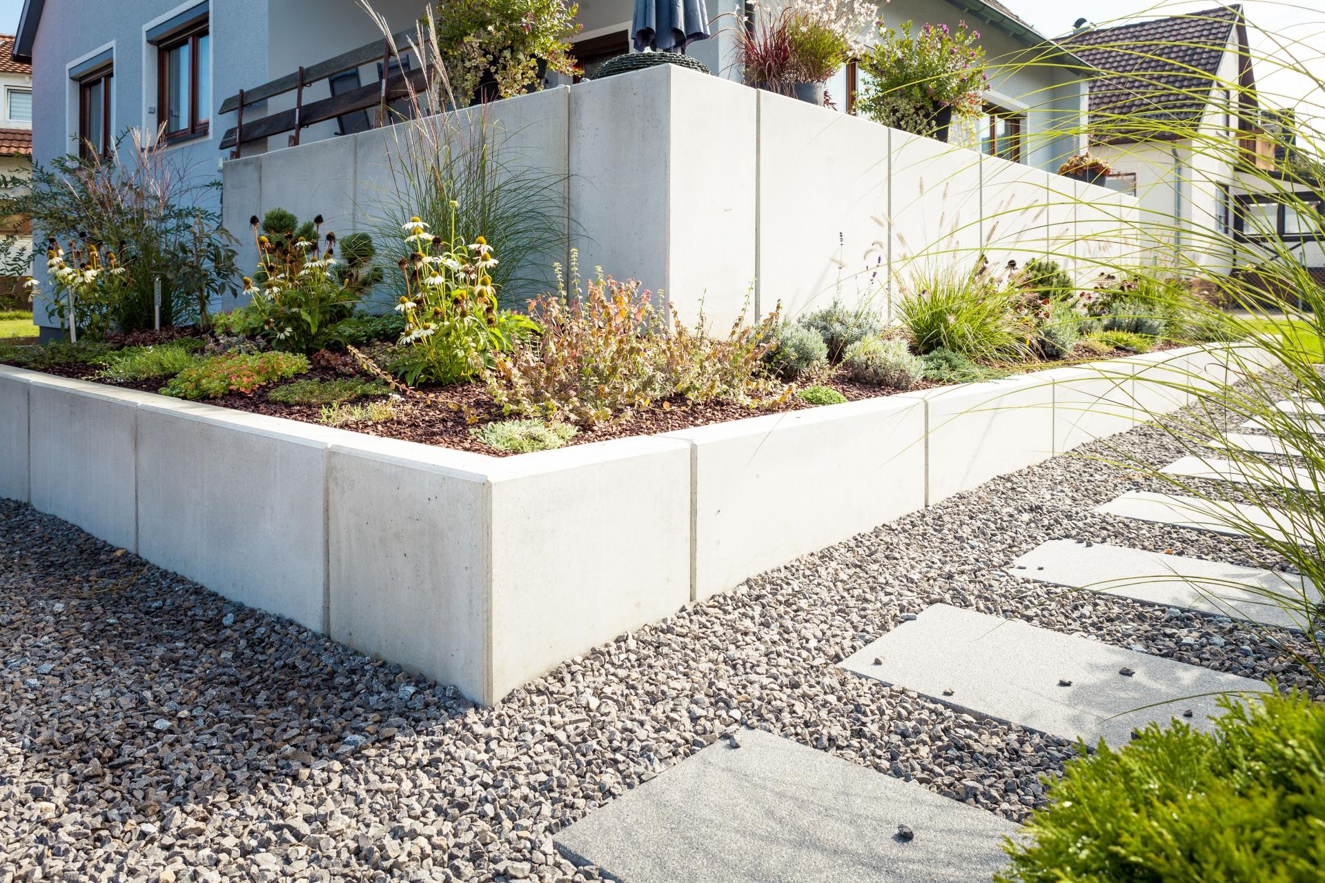 Amüsant Gartengestaltung Vorgarten Referenz Von Nachher: Ein Strukturierter